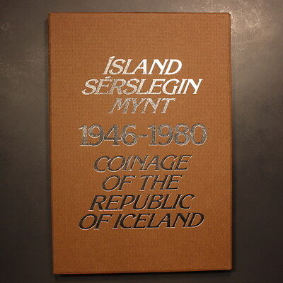 Iceland 1980 11pc. Proof Set w/ Sleeve & Certificate