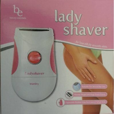 Lady Shaver Wet /Dry Trimmer + Facial Trimmer & Eyebrow Styling Kit FREE