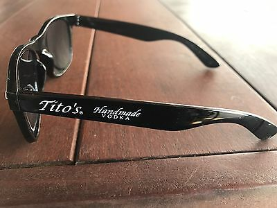 Titos Handmade Vodka Black And White Sunglasses Brand New Grey Goose Ray Ban