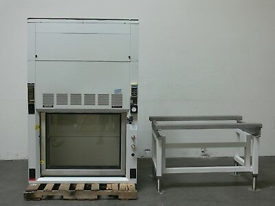 Fisher Hamilton SafeAire PL-301-4 Part 70532 4' Wide Fume Hood w/ Stand