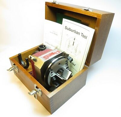 Excellent SUBURBAN TOOL MASTER-GRIND SPIN INDEX FIXTURE MG-5CV-S1, COMPLETE