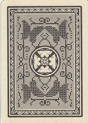 *Genuine Swap / Playing Card - 1 SINGLE WIDE - BUTTERFLY DESIGN