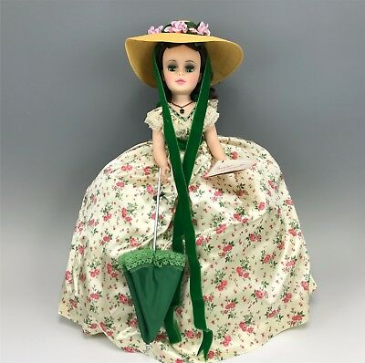 "21"" Madame Alexander Portrait Doll, Scarlett in Print Ball Gown #2255"