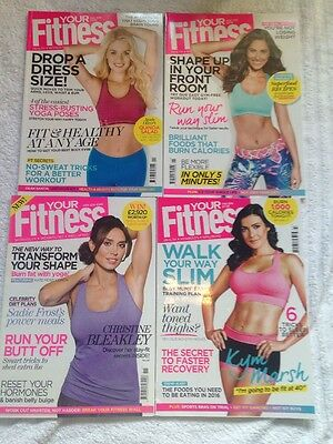 4 X Your Fitness Health Workouts Well Being Magazines Gym Diet Look Read Once