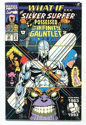 What If #49     Silver Surfer Possessed the Infinity Gauntlet