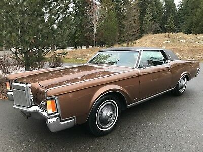 1970 Lincoln Continental Mark III 90k Orig. Mile Survivor Loaded Barnfind 1970 Lincoln Continental Mark III 90k Original Mile Survivor Loaded