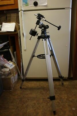 Meade EQ-1 Telescope Mount Head with Counterweight, Extension Cables & Tripod
