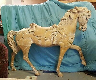 ANTIQUE PTC CAROUSEL HORSE Shipping Included