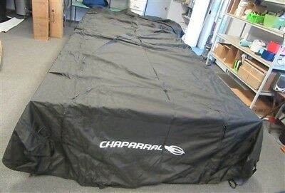 """Chaparral 224 Mooring Cover 264"""" X 135"""" ( 115094231 ) Black Marine Boat"""