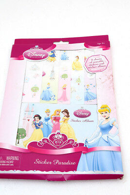 Disney Princess Sticker Paradise 6 Pages of  Stickers + Album Stocking Filler