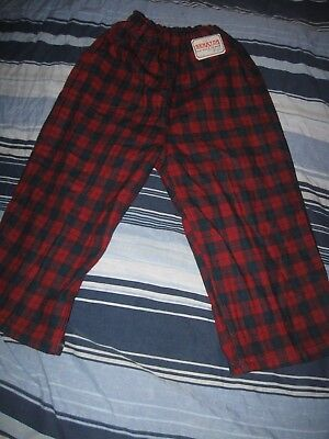 Vintage Wool Plaid Togs For Toddler Size 4 With Tag