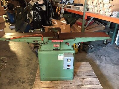"""Powermatic Model 60,  8 inch Jointer  """"Missing Fence"""""""