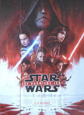Star Wars The Last Jedi - Hamill / Fisher  - Regular Large French Movie Poster