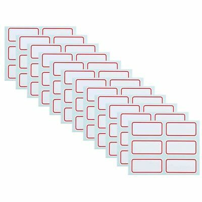Note  Labels Self Adhesive Name Number Tags Price Stickers Label Blank