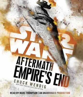 Empire's End: Aftermath by Chuck Wendig (CD-Audio, 2017)