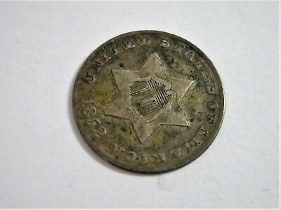 1852 3c Silver Three-Cent Piece (Trime)