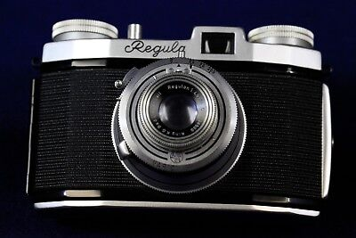 King Regula I-F  w/ Regulon 50mm 1:4.5 made in Germany ---  Nice Display Piece