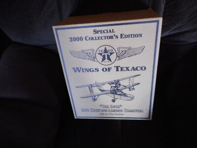 TEXACO DIE CAST AIRPLANE 2000 COLLECTOR'S EDITION #8 in the series