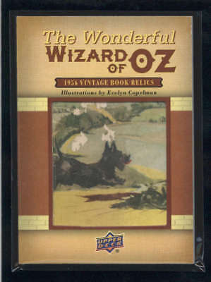 Wizard Of Oz 2017 Ud Goodwin Champions 1956 Vintage Book Relics #oz3 Ss5920