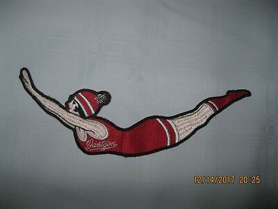 Jantzen memorabilia LARGE Vintage diving girl applique