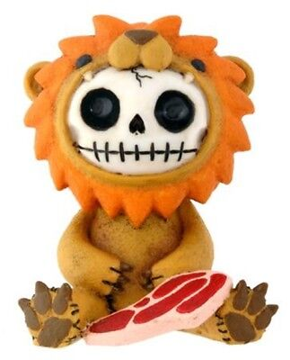 FurryBones Raion Figurine Ornament Lion Cute Gothic Skeleton Skull Fun Cool Gift