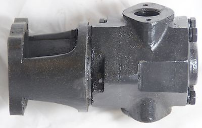 13 GPM Vegetable/Waste Motor Oil Cast Iron Transfer Pump Head Steel Gears WVO