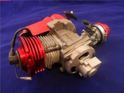 Mini moto minimoto 49cc high performance race engine air cooled full kit Red