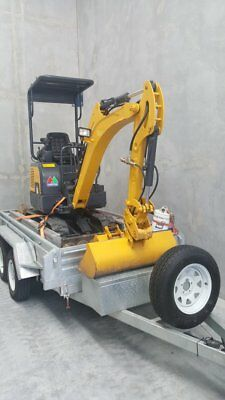 Business for sale. Excavator with Tipper Trailer and Auger