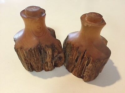 Huon Pine Salt And Pepper Shakers