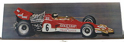 Lotus 72 Gold Leaf Team Jochen Rindt  Poster GP France 1970