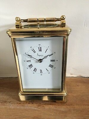Asprey 8 Day Striking/Repeater Carriage Clock By Lep'ee French made