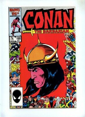 Conan The Barbarian #188 - DC 1986 - VFN+