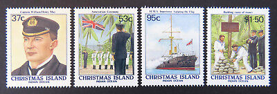 1988 Christmas Island Stamps - Anniversary of Island's Annexation - Set 4 MNH
