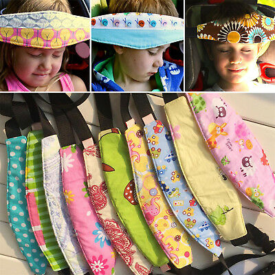 Baby Head Support Stroller Car Seat Fastening Belt Sleep Safety Strap New Newly