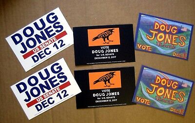 Doug Jones for Senate Postcards - NEW, Set of 6 - Free Shipping