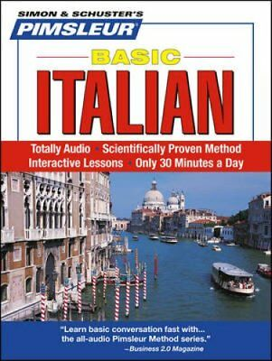Pimsleur Italian Basic Course - Level 1 Lessons 1-10 CD Learn t... 9780743550680