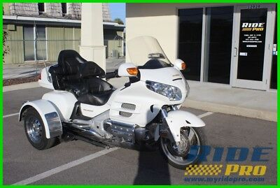Honda Gold Wing®  2004 Honda Goldwing Trike GL1800 with Voyager Trike Kit Cheap White