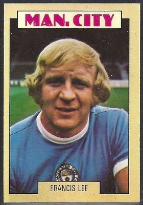 MIKE DOYLE A/&BC-FOOTBALL 1974 RED BACK RUB COIN-#112 MANCHESTER CITY
