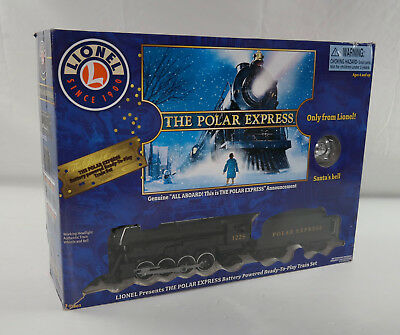 Lionel 7-11803 Polar Express Train Set Ready-To-Play Large Scale READ -FREE SHIP