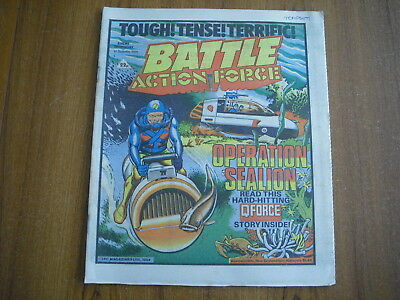 BATTLE ACTION FORCE COMIC - SEPTEMBER 1st 1984