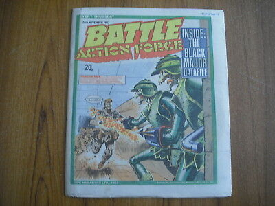 BATTLE ACTION FORCE COMIC - NOVEMBER 26th 1983