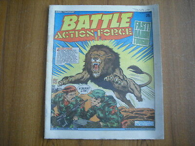 BATTLE ACTION FORCE COMIC - MARCH 10th 1984