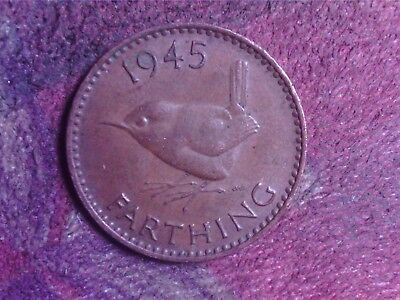 Great Britain  Farthing  1945