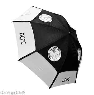 Brand New Derby County Fc Double Canopy Golf Umbrella.