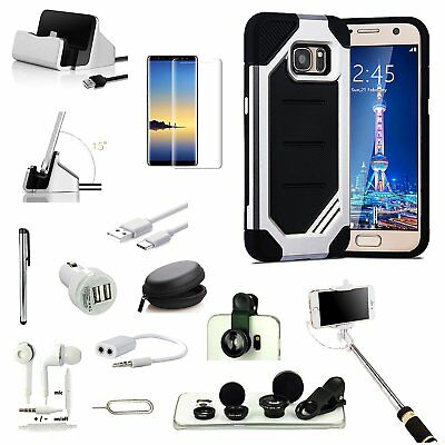 All x Accessory Case Cover Charger Monopod Fish Eye For Samsung Galaxy Note 8