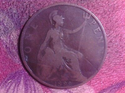 Great Britain   One   Penny  1899