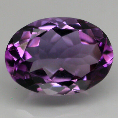 Flawless 5.96ct. 14x10 Mm. Oval Cut Sparkle 100%Natural Top Rich Purple Amethyst