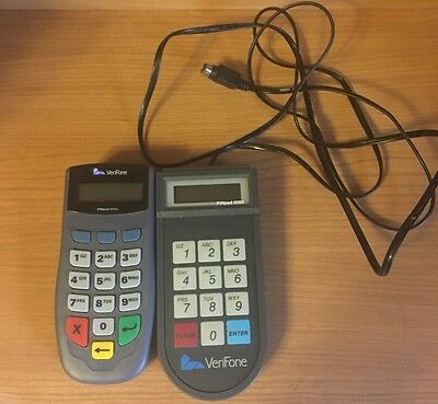 Lot of 2 Veirfone Pinpads (1)1000  (1)1000SE Untested Not Sure If They Work