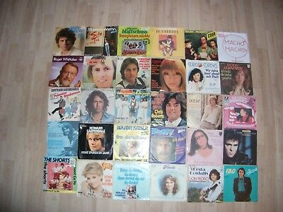 30 Vinyl Single Hit Oldies Deutsche Schlager 70 & 80er Jahre (9)