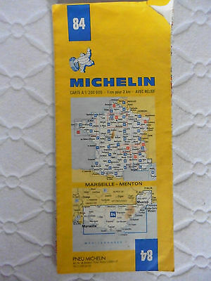 1979 Michelin Map South France Sheet 84